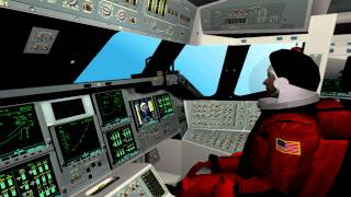 Space Shuttle Mission Simulator - Shuttle Launch/Start Gameplay [HD]