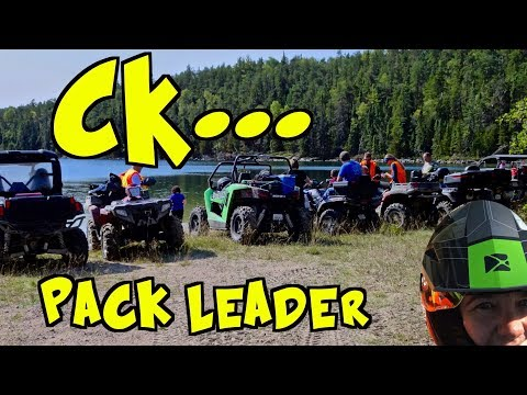 CK Guides A Group of ATV's and SXS's To The Hillock Lake Area - Where's CUBBEE? - Sept.  15, 2018