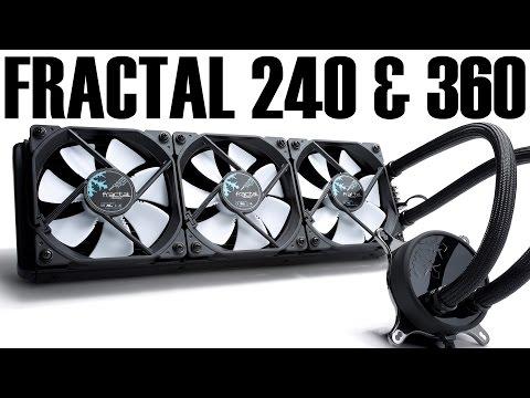 Fractal Celsius S24 & S36 AIO Review 240mm 360mm