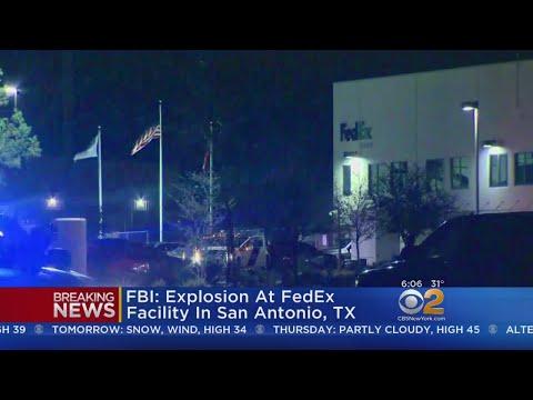 FBI Says Explosion At FedEx Facility In San Antonio, TX