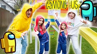 AMONG US In Viata Reala ! Compilatie episod 1 si 2