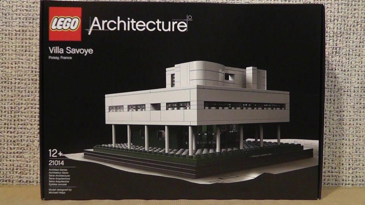 Lego architecture 21014 villa savoye youtube for Video architecture