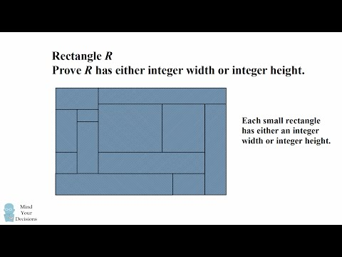 HARD Geometry Problem With Clever Solution. The Integer Rectangle
