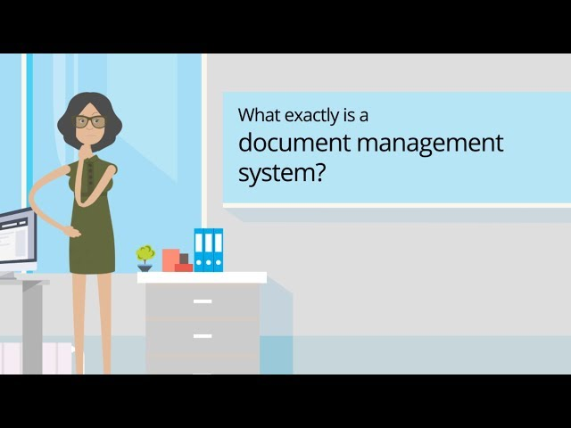 What exactly is a document management system? (DMS)