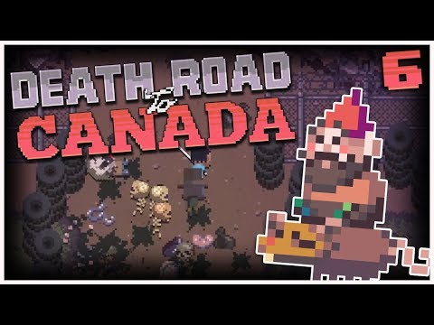 Death Road to Canada - #6 - Our Homey, Gnomey! (2 Player Gameplay)
