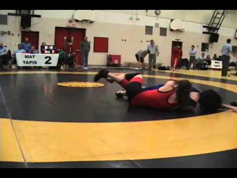 2010 Ontario Junior Championships: 55 kg Sara Pattenaude vs. Erika Levesque