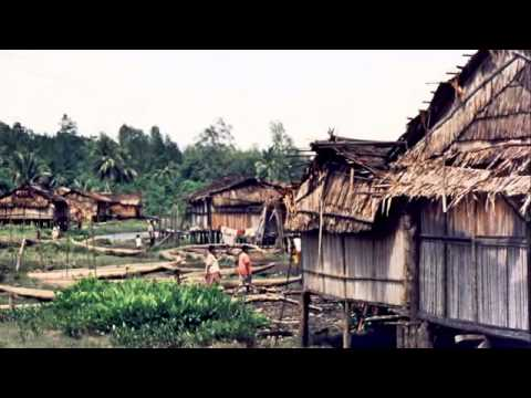 Agats, Irian Jaya,  Asmat region of Papua Province, Indonesia