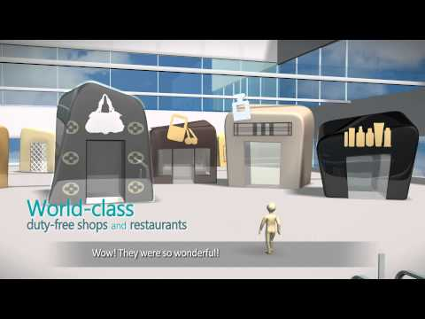 Transfer process at Incheon Airport with Korean Air(Eng)