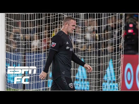 Wayne Rooney sent off for violent conduct in loss vs. New York Red Bulls | MLS Highlights