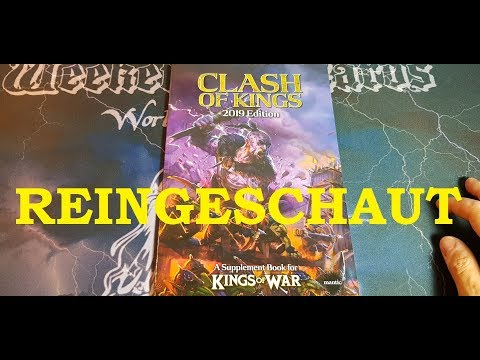 REINGESCHAUT: Kings Of War - Clash Of Kings 2019