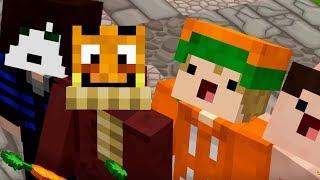 Vier YOUTUBER spielen endlich Minecraft