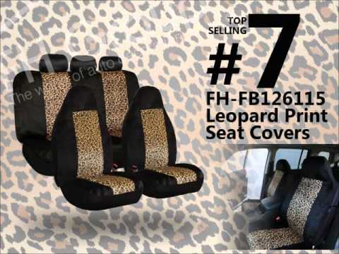 2012 Top Selling Car Seat Covers