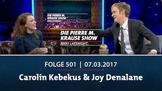 Die Pierre M. Krause Show | Folge 501 | Carolin Kebekus & Joy Denalane