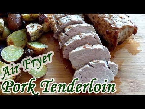 Air Fryer Pork Tenderloin – Easy air Fryer Recipe