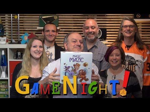 Magic Maze - GameNight! Se04 Ep33