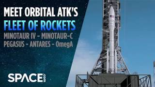 Meet Orbital ATK's Fleet of Rockets
