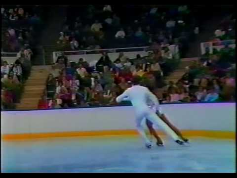 Wynne & Druar - 1986 U.S. Figure Skating Championships, Ice Dancing, Free Dance