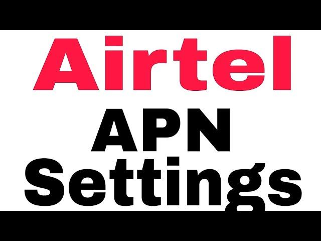 Airtel APN settings for Windows - Airtel APN Settings