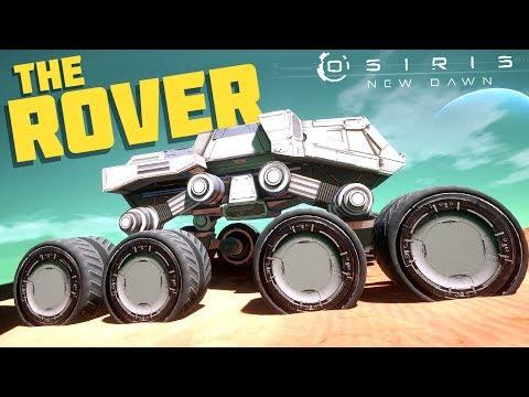 Osiris New Dawn - Building the Rover! Vehicle Crafting and Bio-Dome - Osiris New Dawn Gameplay