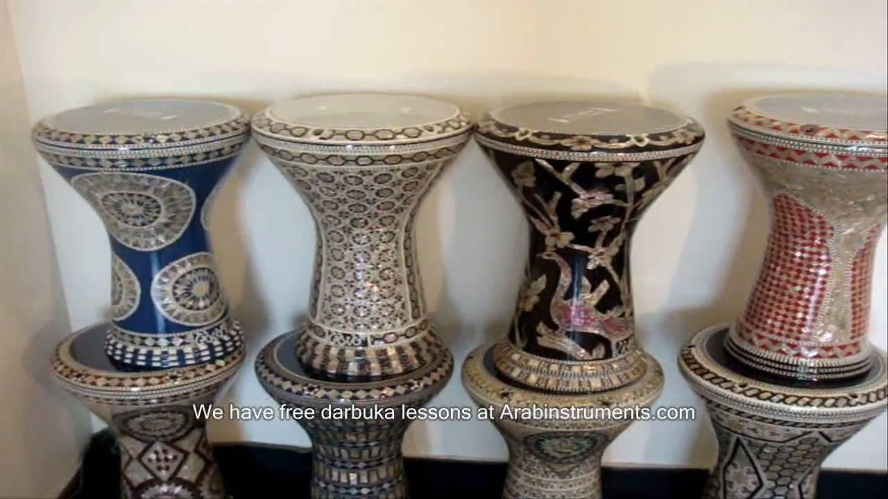 gawharet el fan darbuka collection 2010 arabinstruments com طبلة
