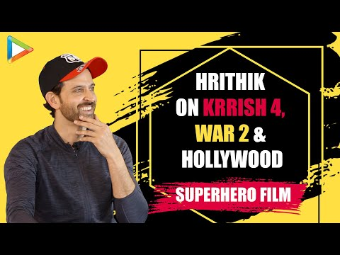 Hrithik Roshan EXCLUSIVE on KRRISH 4 & WAR 2 | Hollywood Superhero film | Importance of Writers