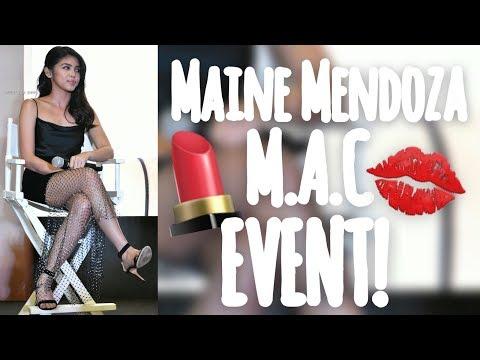 FULL COVERAGE Maine Mendoza Mac Lipstick Event Moa October 5 2018