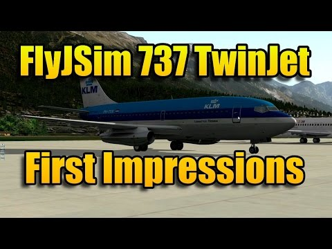 FLYJSIM 737 TWINJET FIRST IMPRESSIONS