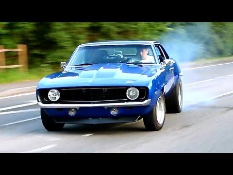 Classic Cars leaving a Meet - June