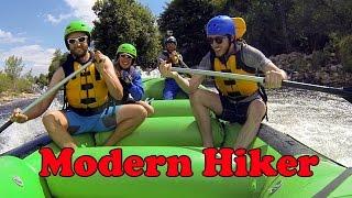 Modern Hiker Casey Schreiner Kern River Rafting | Daredevil Girl