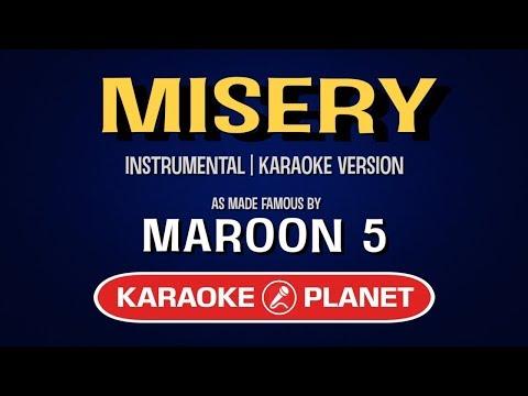 Misery - Maroon 5 | Karaoke LYRICS