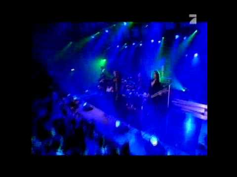 Rhapsody - Unholy Warcry (live at Pro7 feat. Christopher Lee)