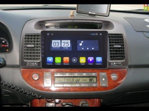 Штатная магнитола Toyota Camry V30 (2001-2006) Android ZOY-3138