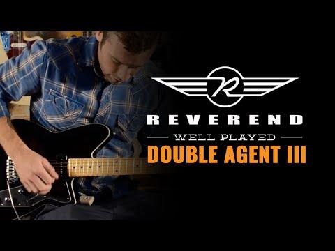 Reverend Guitars Double Agent III