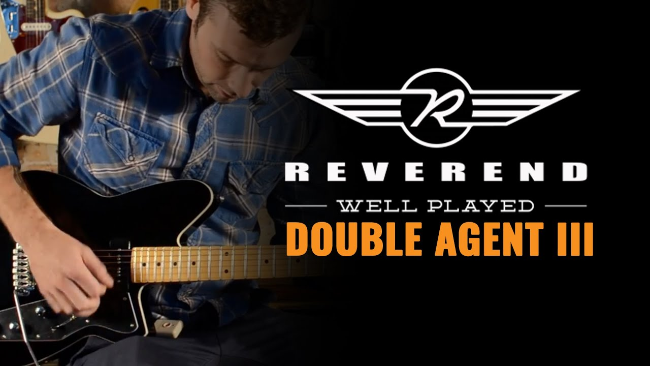 Reverend guitars double agent iii youtube asfbconference2016 Image collections