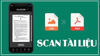 Hướng dẫn ghép file ảnh thành pdf - Scan tài liệu bằng điện thoại di động screenshot 2
