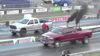 Diesel Drag Trucks Drag Racing Episode 1