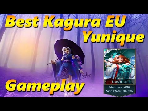 Mobile Legends: BEST 94,8% WINRATE KAGURA Europe Gameplay 'Y