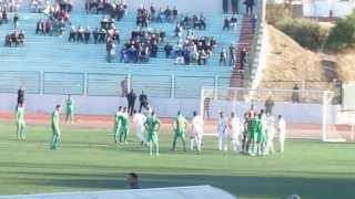 جانب من مباراة سريع غليزان ضد مثالية تغنيف 0/0 الجمعة 22-11-2013