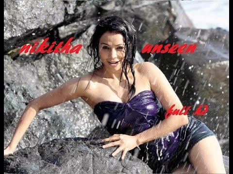 Telugu Actress Nikitha Hot Unseen Novel Scene