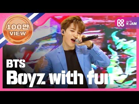 쇼챔피언 - episode-144 BTS - Boyz with fun (방탄소년단 - 흥탄소년단)