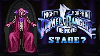 Mighty Morphin Power Rangers: The Movie (SNES) - Stage 7 (Last Stage) Gameplay (Hard)