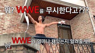 WWE 무시하는 사람에게 참 맛을 보여줬습니다!!