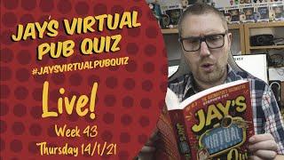 Virtual Pub Quiz, Live! Thursday 14th January