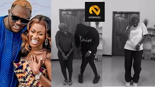 New Mum Fella Makafui Challenges Medikal in a Hot Dance Competition