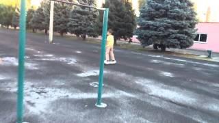 Урок езды на гироскутере