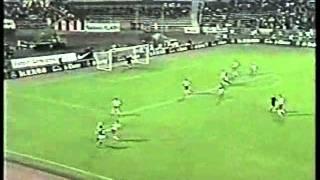 Poland v Germany 4th SEP 1996 anthems goals