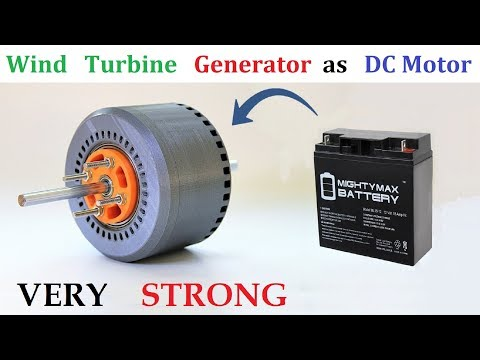 run-24v-30-amps-pmg-alternator-as-brushless-dc-motor-with-ups-battery-&-bldc-controller