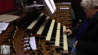 Saint-Sulpice, Daniel Roth improvises on Praise to the Lord (15 Jan 2017)
