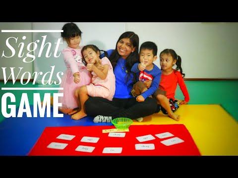 Sight Words Game for Kids -  Kids Games - Preschool Kids Educational Activities