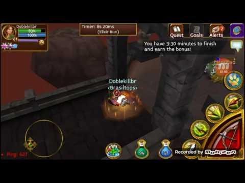 Ensinando A Pega Pets E Itens E Gold /bugs/ Arcane Legends